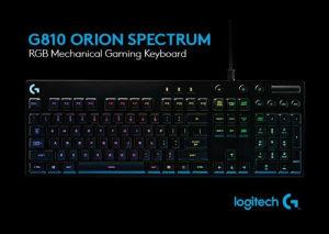 LOGITECH G810 Orion Spectrum Mechanical RGB Gaming
