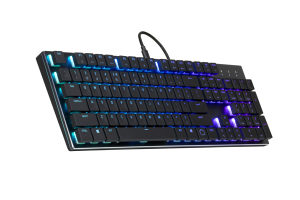 COOLERMASTER SK650 Cherry MX RGB Low Profile