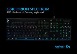 LOGITECH G810 Orion Spectrum Mechanical RGB Gaming