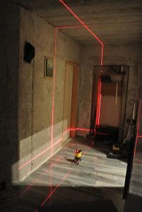 laser križni