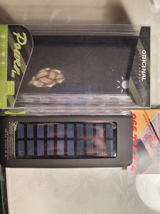 POWER BANK solarni 20000 mah poverbank