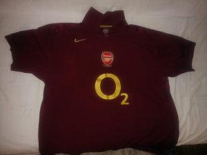 Nike,Dres,Arsenal F.C. XXL 70 KM Fiksno!