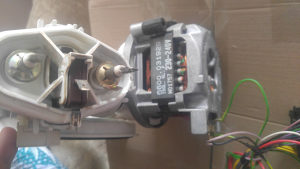 Motor. sa pumpom za, masinu za sudje
