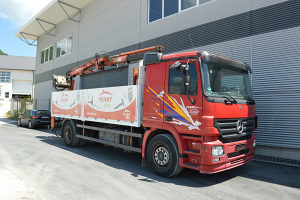 Kamion sa kranom - dizalicom ACTROS 1846 L-s PDV