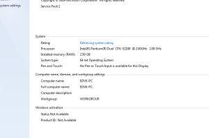 Računar Nvidia 210 1GB, 2,5GB RAM, INTEL E2180 2,0GHZ