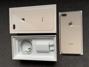 Iphone 8 plus Gold 256GB R sim