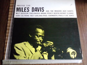 Miles Davis ‎– Miles Davis And The Modern Jazz Giants