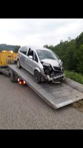 Opel meriva polupana
