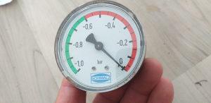 Manometri zraka tlaka pneumatski SCHMALZ