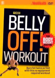 Mens Health Belly Off Workout DVD
