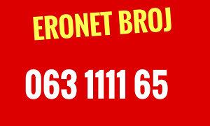 Eronet broj 063 1111 65