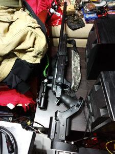 Air soft oprema, Mauser puška sa Tasco noćnom optikom i