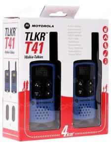 MOTOROLA Walkie-Talkies TLKR T41