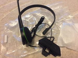 Xbox one headset Novo