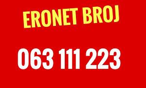 Eronet broj 063 111 223