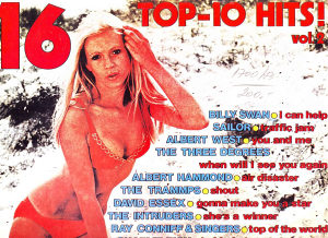 16 TOP 10 HITS lp