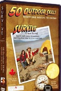 DVD-50 Outdoor Skills Survive Survival