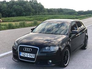 Karambolka Audi A3