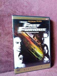 The fast and the furious- DVD kolekcionarski
