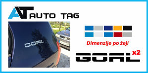 Stikeri auto naljepnice/naljepnica za GOLF GOAL