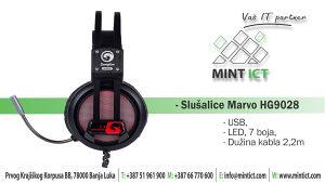 Slušalice Marvo HG9028-USB