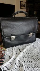 Kožna poslovna torba / NOVA