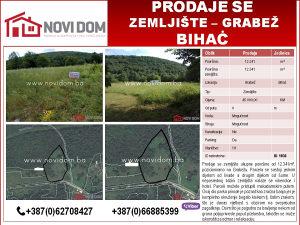 PRODAJE SE - Zemljište - Grabež - Bihać