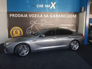 BMW 640 Gran Coupe X drive 2014 god. MAX FUUL