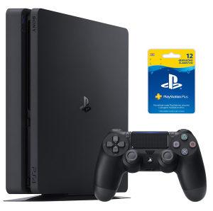 Sony PlayStation 500 GB + PS Plus 365 dana HR - PS4