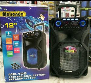 Zvucnik Profi MR-106 Bluetooth,Eqvilajzer ,2 mikrofona