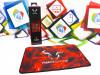 Gaming podloga za miš Riotoro Vyron Smokey Bull 25x35