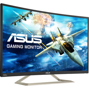 GAMING MONITOR ASUS VA326H FHD CURVED 32'' 144Hz