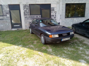 Audi 80 1.6td tek reg