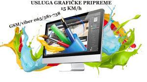 Grafička priprema/prelom - Banja Luka 065/581-738