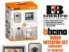 Interfon video set handsfree 10 incha monitor Bticino
