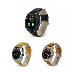 Smartwatch X3 silver sa koznom narukvicom