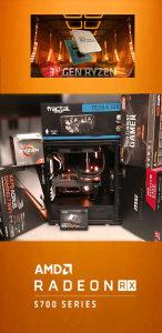 AMD RYZEN 7 3700X /RX 5700 8GB/ X470 /32GB DDR4 3600MHz