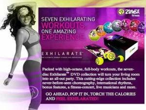 Zumba Exhilarate (Video Tutorial Ebook)-2DVD