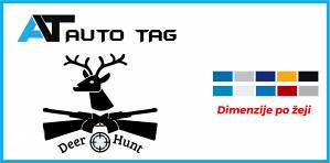 Stikeri i auto naljepnice/naljepnica LOV I RIBOLOV