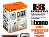 Interfon video set handsfree 7 incha monitor Bticino