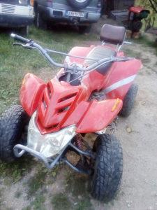 Atv cetverotockas quad 150cc zamjena kombi kedi