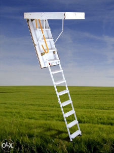 Metalne tavanske ljestve/ stepenice
