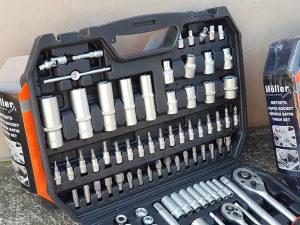 Kljucevi i gedore set 150 djelova NJEMACKA