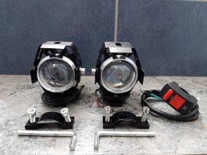 Led Maglenke za motor Dodatna svjetla Sa prekidacem