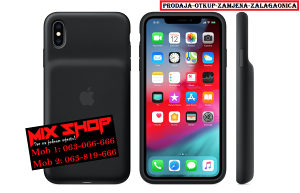 APPLE IPHONE XS MAX SMART BATTERY CASE CRNI