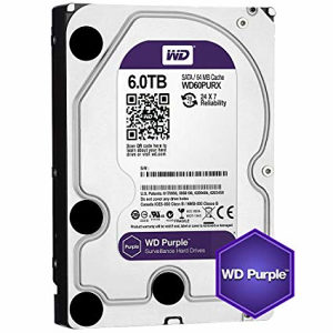 HDD INT WD 6TB Purple WD60PURZ