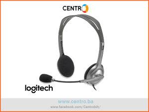 Logitech Slušalice H110