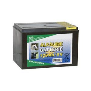 Suha baterija ALKALINE 9 Volti-120 Ah