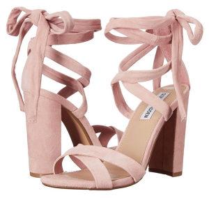 Baby roze sandale / štikle