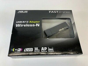 Wireless internet PC Adapter 300mps ASUS WPS